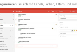 Todoist nun als finale Universal App für Windows 10 und Windows 10 Mobile