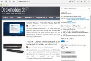 CatBlock – Erster Adblocker für den Microsoft Edge erschienen