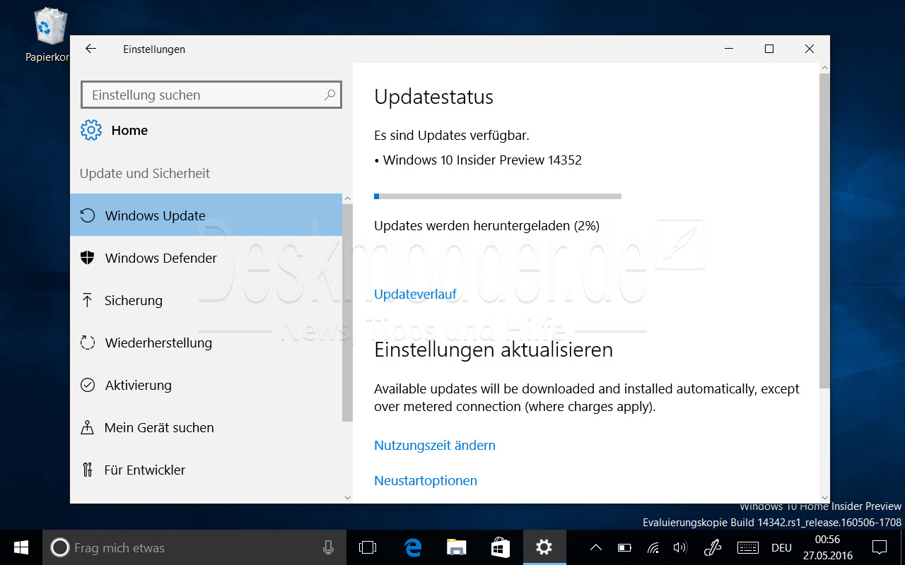 Windows 10 Preview 14352