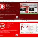 Adblock und Adblock Plus für den Edge stehen zum Download bereit