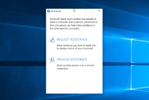 Quick Assist: Fernwartungs-App von Microsofts als Antwort auf TeamViewer