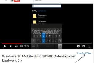 FlyingYouTube – Mit dem Microsoft Edge YouTube Videos herunterladen