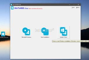 WinToHDD: Windows auf eine  SSD oder HDD klonen,  neu installieren, installieren Version 1.4 erschienen