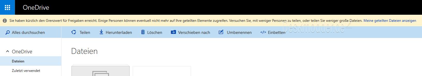 OneDrive_Freigaben_Grenzwert_Backend