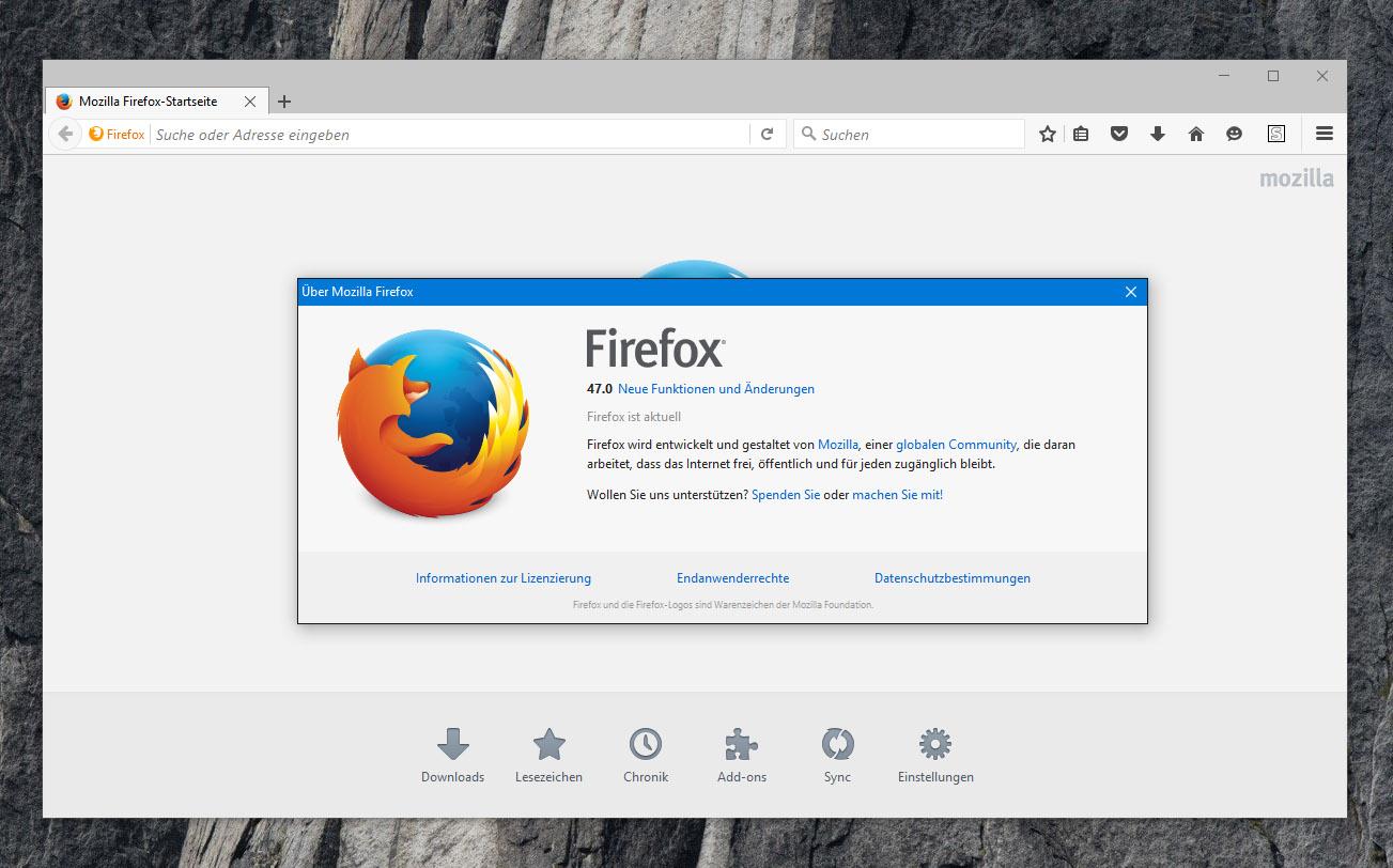 Firefox 47 Download Deutsch
