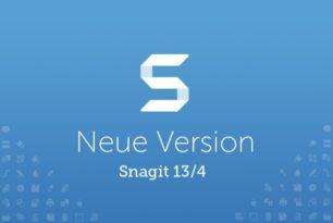 TechSmith stellt Snagit 13 (für Windows) & Snagit 4 (für MacOS) vor