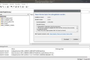 Registry Finder mit einem Update auf die Version 2.10.4