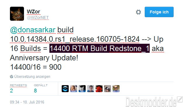 Windows 10 Insiders Builds [RedStone 1] - Page 3 14400