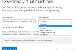 """Download: """"Microsoft Edge unter Win 10 (14.14393)"""" in einer virtuellen Umgebung testen"""