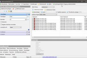 Advanced Renamer Version 3.73 erschienen