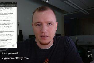Microsoft Edge – Live Debugging von Webseiten mit Jonathan Sampson jeden Samstag