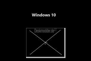 Kein drehender Kreis beim Neustart oder Herunterfahren Windows 10 1607