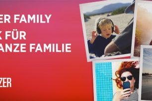 Deezer Family: Deezer nun auch mit Familien-Abo