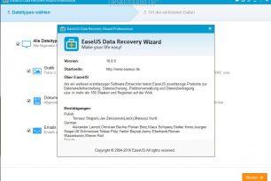 EaseUS Data Recovery Wizard Professional 10.8 Kurztest und Gewinnspiel