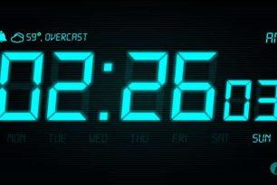 App des Tages: Night Stand Clock – Uhr mit Wetteranzeige und Alarmfunktion