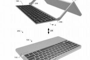Microsoft Patent – Neue zusammenklappbare Tastaturhalterung für Tablets