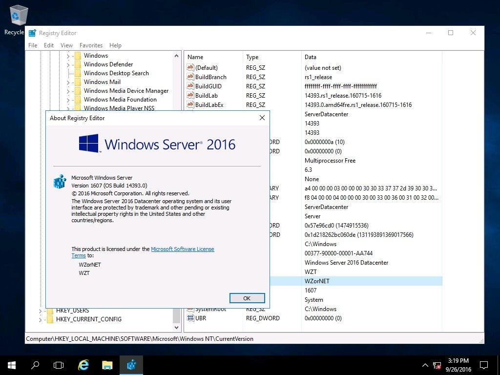Windows Server 2016 RTM schon im Umlauf (Screenshots / Download