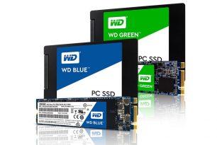 """Western Digital stellt """"WD Blue SSDs"""" und """"WD Green SSDs"""" vor"""