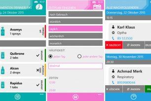 App des Tages: Medica Reminders – Windows 10 Mobile und Windows Phone
