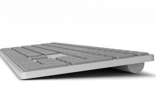 Microsoft-Tastatur mit integriertem Fingerabdrucksensor könnte bald kommen