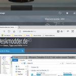 Aero Glass: Neue ModernFrame.dll für Windows 10 1607