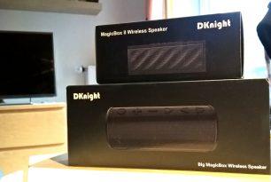 DKnight Big MagicBox und MagicBox II im Test – Spitzen Sound für wenig Geld