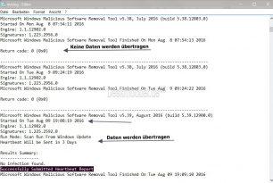 """Senden von Telemetriedaten vom """"Microsoft Windows-Tool zum Entfernen bösartiger Software"""" deaktivieren"""