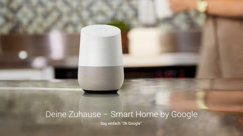 Smarter Lautsprecher: Google Home kann jetzt auch auf Bluetooth-Geräte streamen