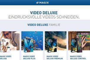 MAGIX Video deluxe – Professionelle Videobearbeitung auch für Anfänger [Test]