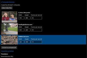 App des Tages: Animated GIF Creator – Aus Videos animierte Dateien erstellen