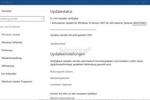 KB3201845 (Windows 10 14393.479) steht nun für alle zum Download bereit