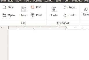 """LibreOffice: Ab Version 5.3 mit einem Hauch von """"Ribbon""""-Oberfläche"""