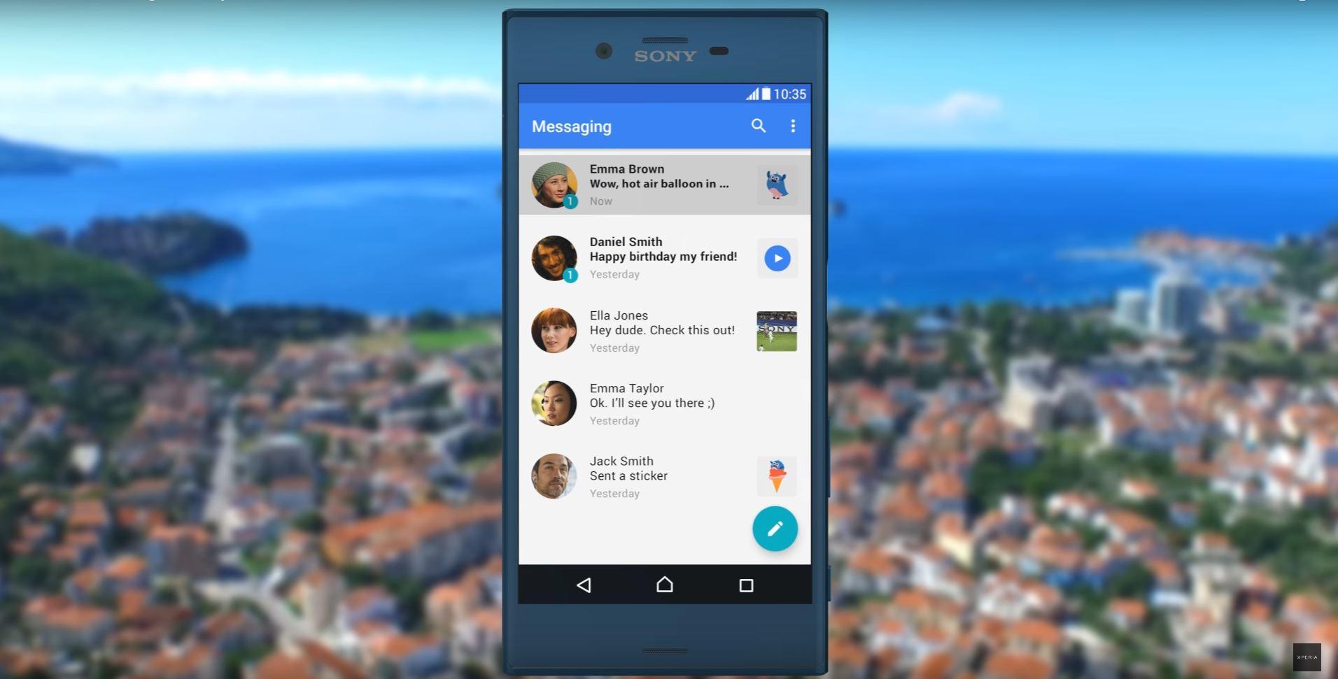 Sony will mit Android 7.1.1 nach vorne preschen
