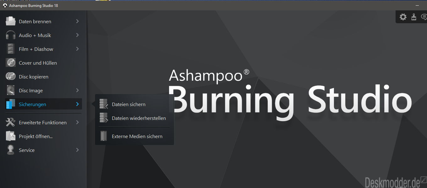 Ashampoo burning studio 12.05