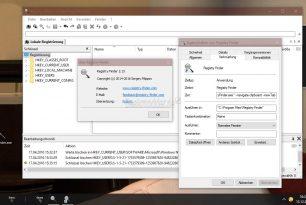 Registry Finder 2.15 mit neuer Funktion – Kopierten Registry Link direkt mit der Verknüpfung öffnen
