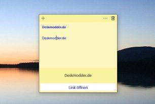 Sticky Notes 1.3.0.0 mit einigen Verbesserungen (noch Fast Ring)