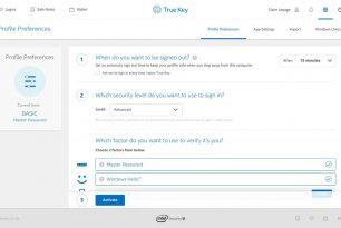 True Key – Microsoft Edge Erweiterung als  Authentifizierungsmanager ohne ein Passwort anmelden