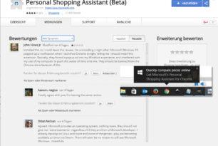 Microsoft macht nun Werbung für seine Google Chrome Erweiterungen