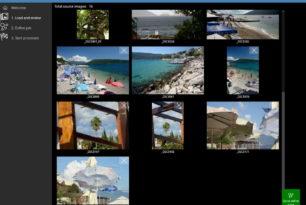 Stretch Cut Watermark – Mehrere Bilder in einem Prozess schneiden, Größe ändern und mehr