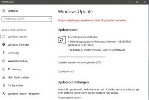 Windows 10 15007 (Changelog) steht zum Download bereit