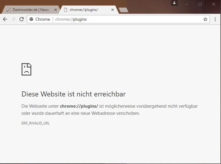 Google Chrome Plugins Nicht Mehr Erreichbar Deskmodderde