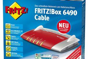 Endgerätefreiheit: FRITZ!Box 6490 Cable im Test