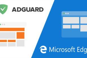 Adguard AdBlocker für den Microsoft Edge als Erweiterung steht nun bereit