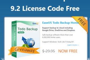 Giveaway: EaseUS Todo Backup Home 9.2 48 Stunden kostenlos verfügbar