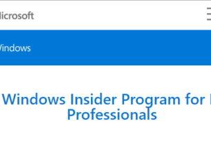 Windows Insider Programm für Unternehmen mit WIP4Biz