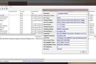 LoadedDllsView – Einer dll ein Prozess / Programm zuordnen