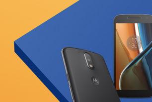Moto G4: Android Nougat verfügbar
