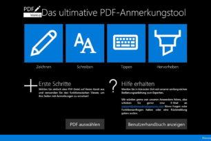 App des Tages: PDF Markup – PDF  Anmerkungstool für Windows 10 und Windows 8.1