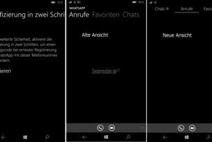 """WhatsApp jetzt mit """"Verifizierung in zwei Schritten"""" und neuer Ansicht"""