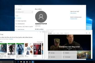 EnableLUA  auf 0 und Build-In Administrator starten nun wieder mit Apps und dem Store Windows 10 1703